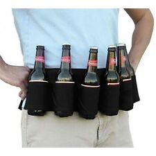 GearXS Party Beer & Soda Can Belt 6 Pack Holster - Great For Beer Lovers
