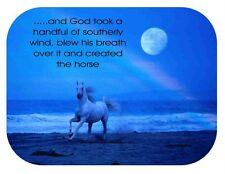Custom Made T Shirt God Took Handful Southerly Wind Blew Breath Created Horse