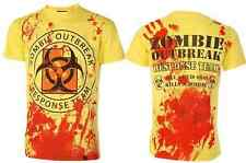 DARKSIDE CLOTHING Zombie Response Team t-shirt/top horror/undead/blood splatter