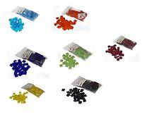 Spectrum COE 96 Fusible Tiles - 1/2 pound glass chips - you choose variety