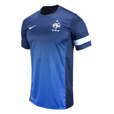 Nike Tiempo France  2012 - 2013 Soccer Training Jersey Brand New Navy Blue
