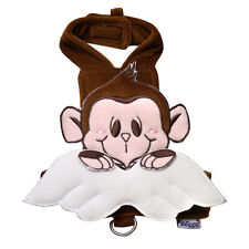 New Klippo Brown and Pink Monkey Angel Dog Harness & Leash Set Various Sizes