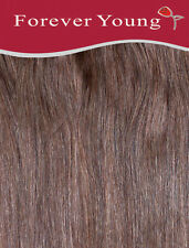 Clip In Human Hair Extension One Piece Quick Clip Pick & Mix Light Brown 6#