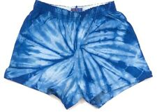 Tie Dye Shorts Youth & Junior 100% Cotton, Athletic, Flat, Multi-Color, Soffe