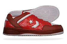 Converse Weapon Red Ox Mens Leather Trainers / Shoes 100711 - See Sizes