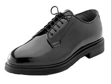 oxford dress shoes uniform high gloss black rothco 5055 various sizes