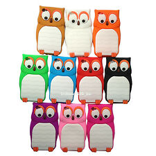 1pc Soft 3D Cute Owl Gel Silicone Case Cover Skin For Iphone 4 4G 4S 8G 16G 32G
