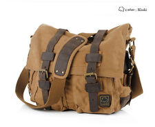 New Men Women Canvas Shoulder Bag Messenger Bag School Bag purse SC-1038