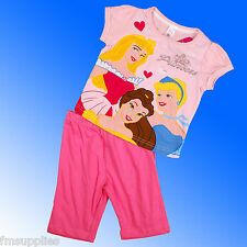 Girls Disney Princess Cinderella Belle Pyjamas Age 2-8 Years *1st Class Despatch