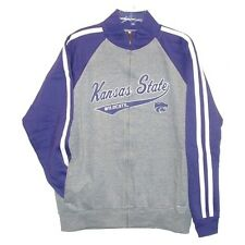 KANSAS STATE ST. WILDCATS NCAA FULL ZIP SWEATSHIRT TRACK JACKET M L XL 2XL