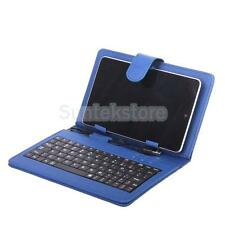 """USB 2.0 Leather Cover Case  w/ Stand Keyboard for 7"""" Inch Tablet PC PDA Android"""