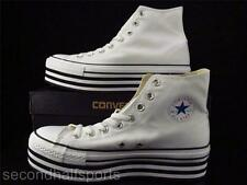 Converse Chuck Taylor All Star Hi Platform Sneakers Shoes WHITE