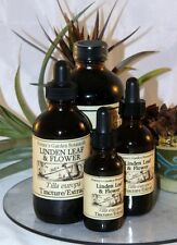 LINDEN LEAF & FLOWER Tincture Extract ~ Multiple Sizes  colds, cough, fever, inf