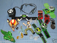 BEN TEN 10 FIGURES VEHICLE WATCH OMNITRIX VARIOUS AVAILABLE OMINVERSE WATCHES