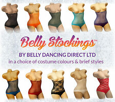 BELLY DANCE COSTUME MESH BODY COVER, COLOUR STOCKING TO MATCH BRA TOP & SKIRT M