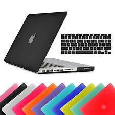 "RUBBERIZED HARD MATTE PLASTIC CASE KEYBOARD COVER FOR APPLE MACBOOK PRO 13"" INCH"