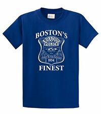 Police T-Shirt Boston's Finest