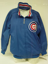 NEW Boys Youth MAJESTIC Blue Chicago CUBS MLB Authentic Baseball Wind Jacket