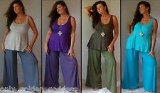 pick color & size pants palazzo OS L XL1X 2X 3X 4X 5X 6X LYCRA PLUS ONE SIZE