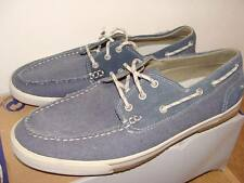 MENS SKECHERS OLVEN NAVY CANVAS DECK SHOES NEW SIZE 6.5,7,8,9