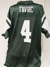 NEW Kids Youth Boys REEBOK Brett FAVRE #4 NY JETS Green NFL Football Jersey