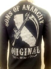 AUTHENTIC SONS OF ANARCHY ORIGINAL SAMCRO SOA LONG SLEEVE T SHIRT S-3XL