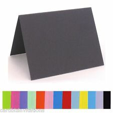 Place Cards Blank Colours Wedding Guest Names Table Cards 50 smooth flat stock
