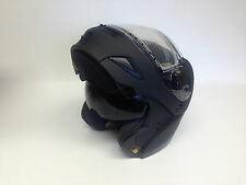 Flat Black Gmax GM54S Modular Snowmobile Helmet W/ Electric Shield option snow