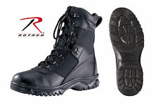 "forced entry boots waterproof 8"" black tactical rothco 5052 various sizes"