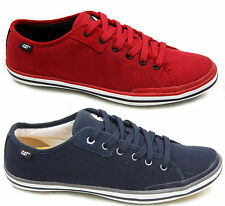 MENS CATERPILLAR CAT SOLID CANVAS LACE UP CASUAL PUMPS TRAINERS SHOES SIZE 6-12