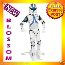 C784 Star Wars Clone Trooper Halloween Fancy Dress Adult Costume