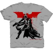 Splatter Paint Dark Knight Rises Batman T-Shirt