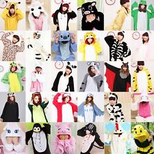 Adult Kigurumi Pyjamas unisex Sleepwear Lovers Animal Romper  Cosplay dress New