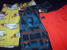 NWT Men's HANG TEN Board Shorts Swim Trunks Swimwear 5 designs avail. 5 sizes
