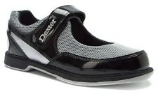 New Womens Ladies Dexter Mary Jane Black/Silver Bowling Shoes Size 7 7.5 8 9