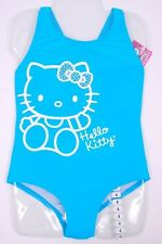 Brand New Hello Kitty One-Piece Bathing Suit for Girls in Gulf Blue