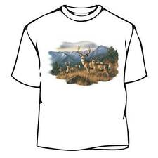 Winter Mountain Deer T-Shirt