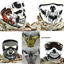 Skull Tooth Face Flexible Mask Skeleton Bike Motorcycle Navy Seal Swat Cosplay