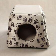 Footmark Dog Pet Cave Hooded Dog Hole Dog Bed House for Medium Sz Small Dog