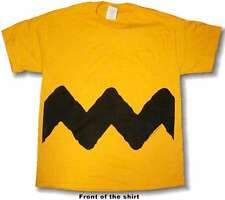 Peanuts Charlie Brown ADULT Tee Shirt PICK SIZE NEW Official