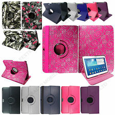 For Samsung Galaxy Tab 3 10.1 P5200 PU Leather 360° Degree Tablet Case Cover+Pen