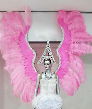 Da NeeNa B043 Angel Victoria Secret Gigantic Ostrich Feather Wings Backpiece
