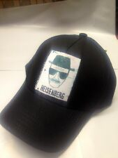 AUTHENTIC BREAKING BAD AMC HEISENBERG NOTEPAD SKETCH WALTER WHITE FITTED HAT CAP
