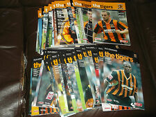 Hull City home programmes 2004/05 - 2005/06