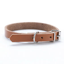 2 Colors XS-L Adjustable Dog Collar Faux Leather Pet Collar For Small/Medium Dog
