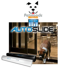 Power Electronic Automatic Pet Door Sliding Dog Door System for Pets & Humans