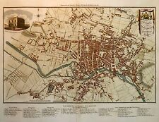 Reproduction Map of LEEDS, YORKSHIRE 1822 ... A1 A2 A3 A4 Sizes