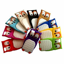 1pc 3D Cute Cartoon Owl Soft Gel Rubber Silicone Case Skin Cover for Iphone 5C