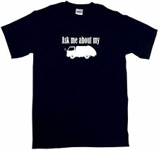 Ask Me About My Garbage Truck Mens Tee Shirt Pick Size & Color Small - 6XL