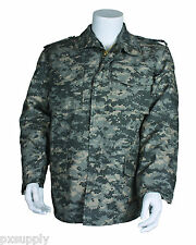 m-65 field jacket army acu digital camo with liner military coat m65 fox 68-37
